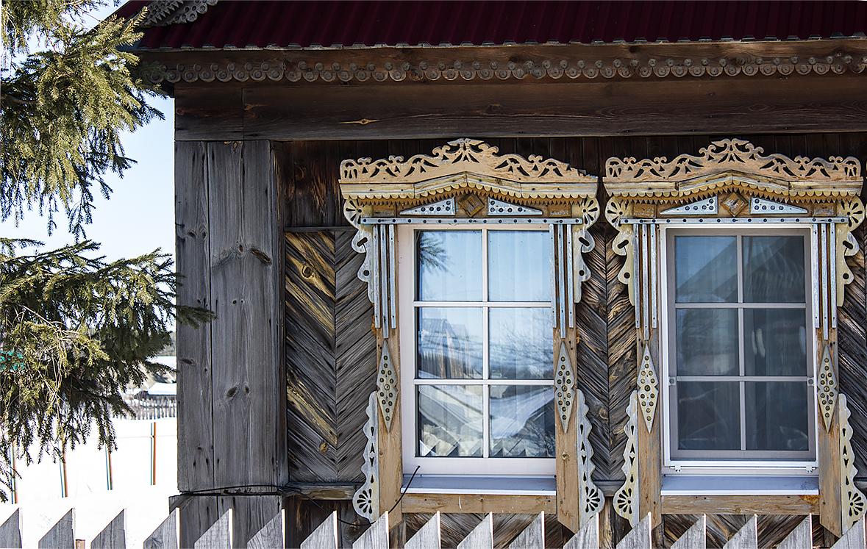Новые окна в деревенском доме