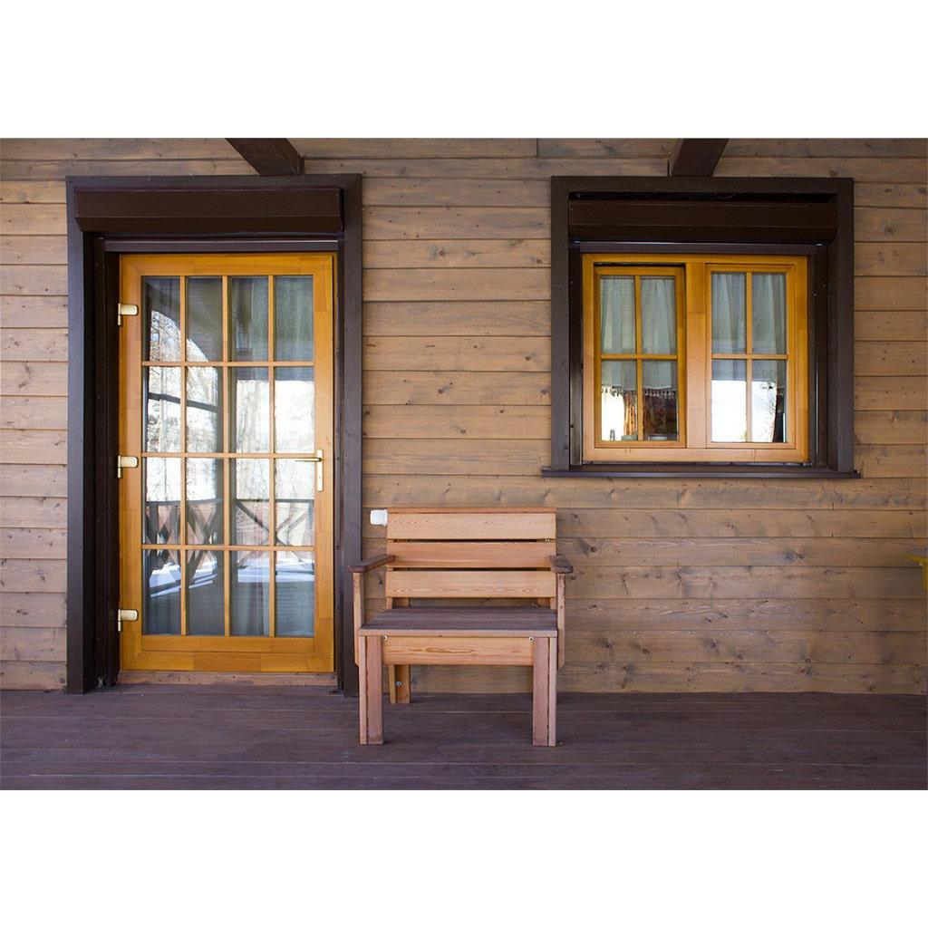 Деверянные евро окна и двери