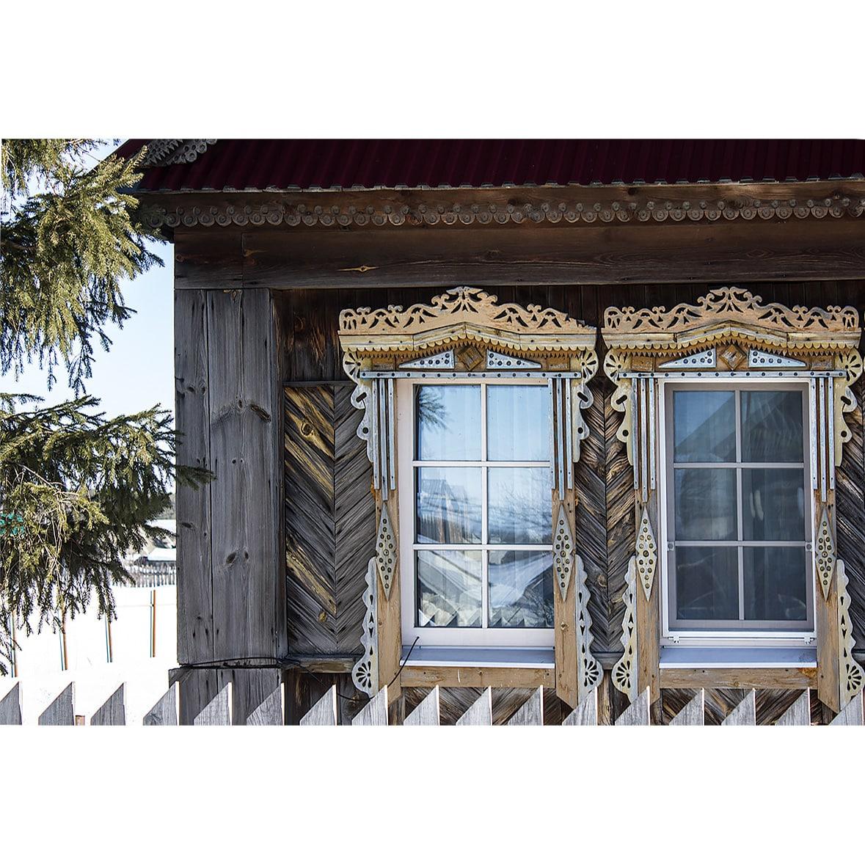Современные окна со стеклопакетами в старый дом