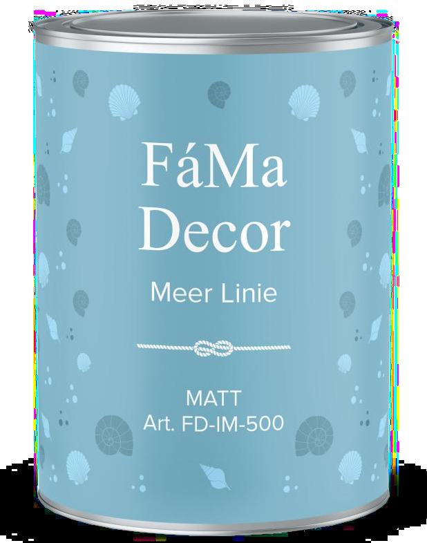 Интерьерная краска FD-IM 500 FaMa Dеcor MEER Linie